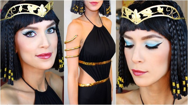 Cleopatra Eye Makeup Cleopatra Halloween Costume Makeup Tutorial Youtube