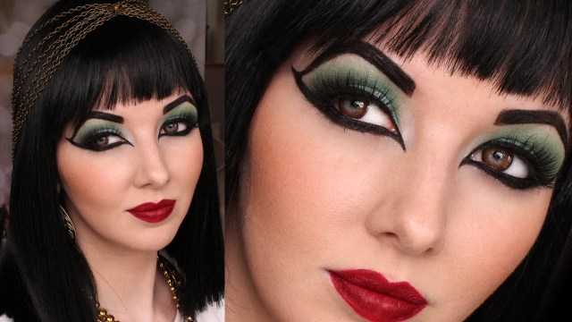 Cleopatra Eye Makeup Historically Accurate Ancient Egypt Cleopatra Makeup Tutorial