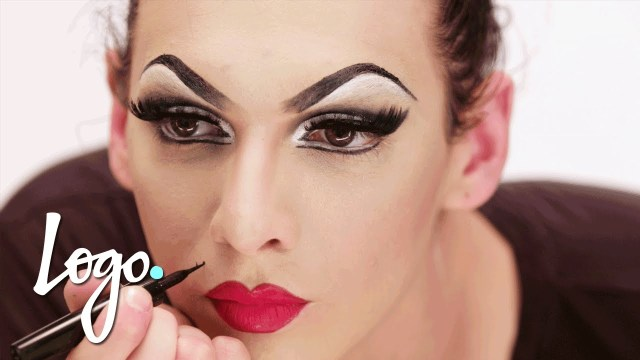 Drag Eye Makeup Drag Makeup Tutorial Violet Chachki Leather And Lace Runway Look