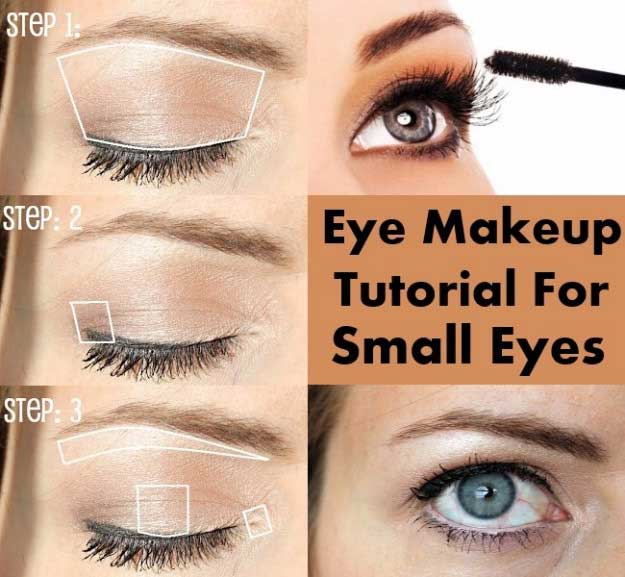 Dramatic Makeup For Small Eyes 34 Makeup Tutorials For Small Eyes The Goddess