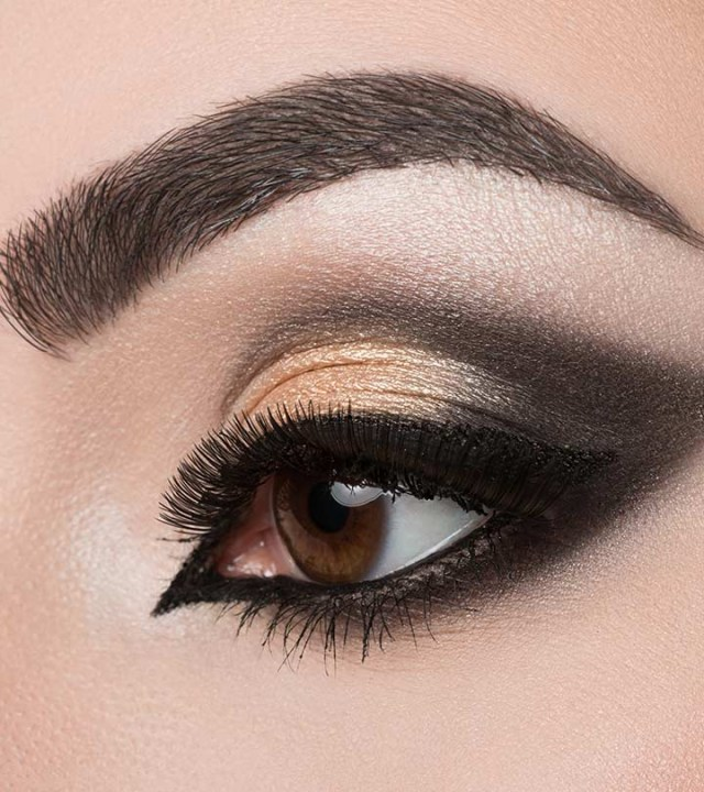Dramatic Makeup For Small Eyes Dramatic Cut Crease Arabic Eye Makeup Tutorial With Detailed Steps