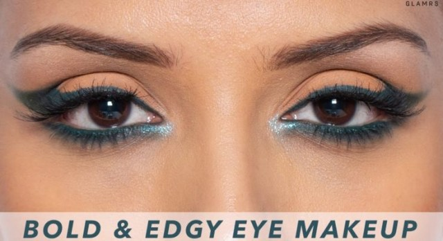 Edgy Eye Makeup Edgy Dramatic Cat Eye Makeup Look For The Holiday Season Glitter