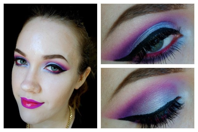 Edgy Eye Makeup Edgy Hot Pink Ombre Lip How To Paint An Ombre Lip Beauty On