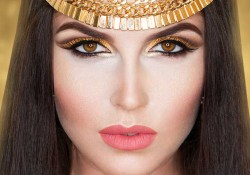 Egyptian Eyes Makeup Egyptian Eye Makeup Tutorial With Pictures Stylecraze