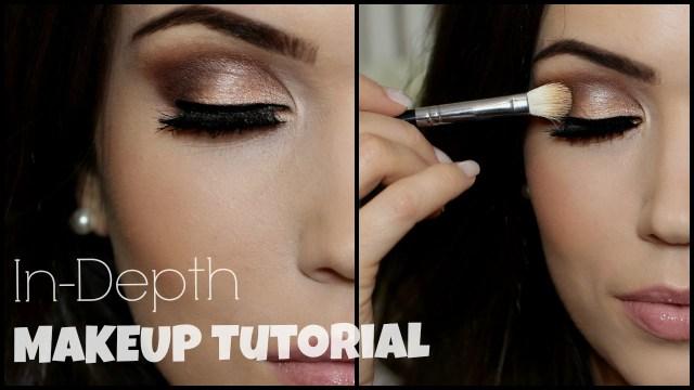 Eye Makeup Demo In Depth Eye Makeup Tutorial Irish Beauty Collab Youtube