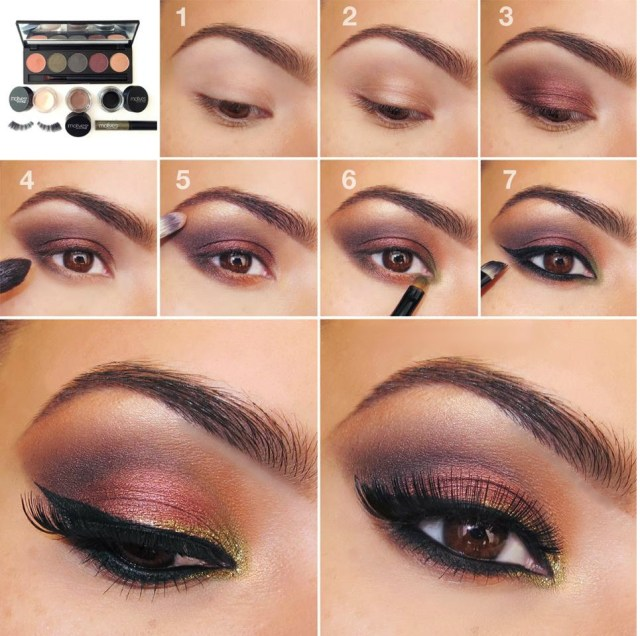 Eye Makeup Evening 20 Easy Step Step Eyeshadow Tutorials For Beginners Her Style Code