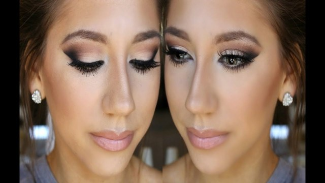 Eye Makeup For Black Dress Prom Makeup 2014 Neutrals For Any Color Dress Youtube