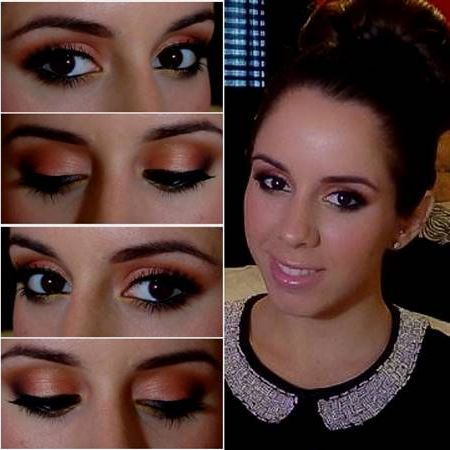Eye Makeup For Coral Dress Prom Makeup For Brown Eyes And Coral Dress 2018 Topclotheshop