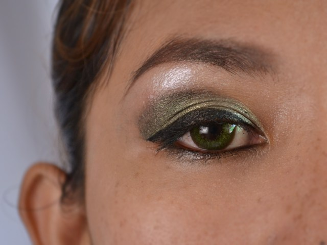 Eye Makeup For Dark Skin How To Do Green Eye Makeup For Dark Skin With Pictures Wikihow