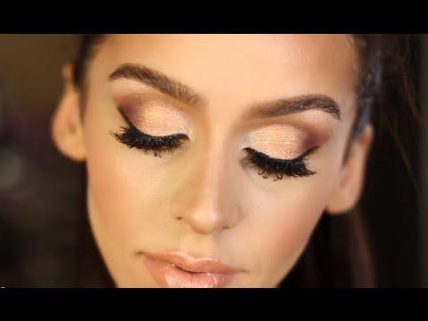 Eye Makeup For Graduation Gold Bronze Smokey Eye Makeup Tutorial Youtube