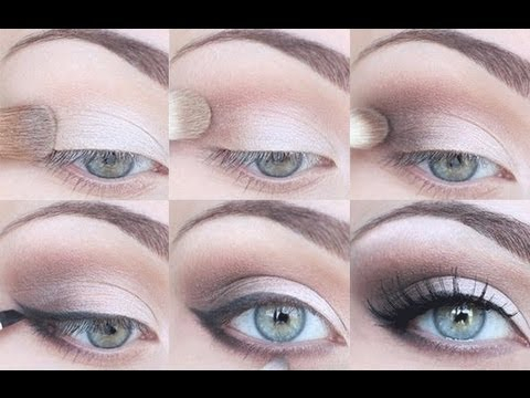Eye Makeup For Graduation Step Step Eyeshadow Tutorial For All Eye Shapes Youtube