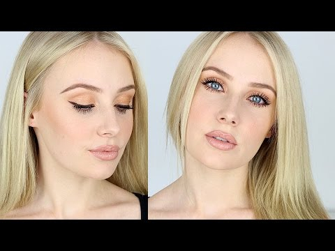 Eye Makeup For Pale Skin Makeup Tutorial For Fair Skin Contouring Nude Lips Bronze Eyes