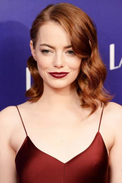 Eye Makeup For Red Heads Emma Stone Best Makeup For Redheads British Vogue