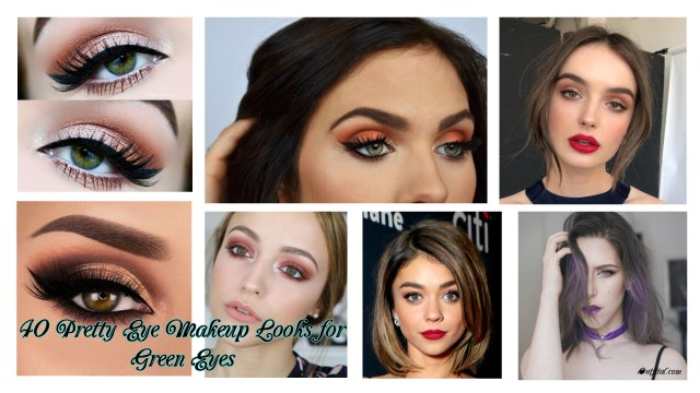 Eye Makeup Over 40 40 Pretty Eye Makeup Looks For Green Eyes Outfital