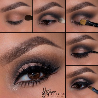 Eye Makeup Smokey Brown Smokey Brown Cat Eye Motives Cosmetics