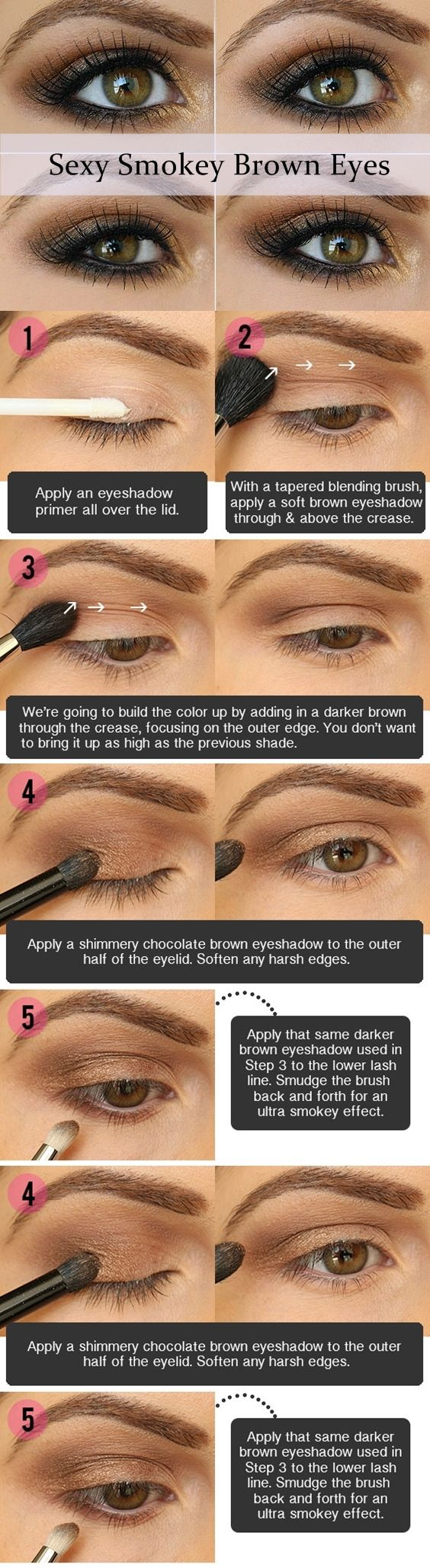 Eye Makeup Tutorial For Hazel Eyes 17 Best Light Smoky Eye Makeup Tutorials For Summer Styles Weekly