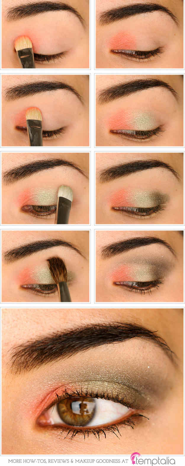 Eye Makeup Tutorial For Hazel Eyes Eye Shadow For Brown Eyes Makeup Tutorials Guide Estheticnet