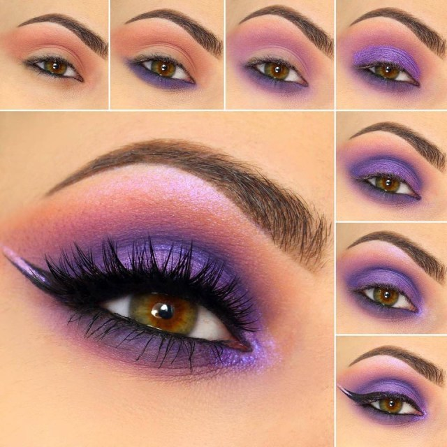 Eye Makeup Tutorials Step By Step Easy Step Step Eye Makeup Tutorials For Beginners Trends4everyone
