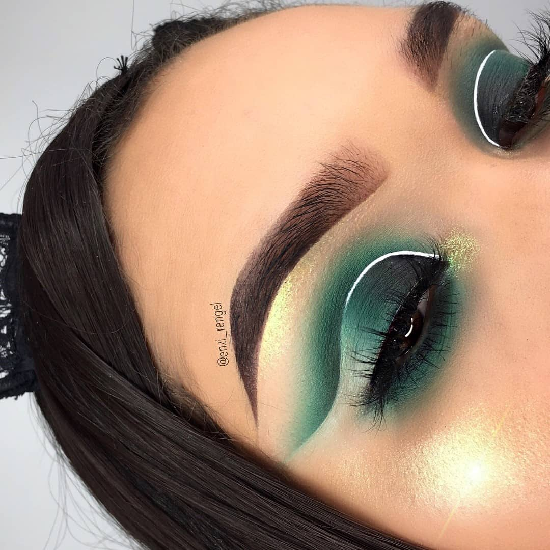Eye Makeup With Turquoise Dress 26 Cut Crease Makeup To Make Your Eyes Really Pop Ritely