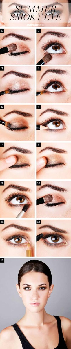 Eye Makeup With Turquoise Dress How To Do Smokey Eye Makeup Top 10 Tutorial Pictures For 2019