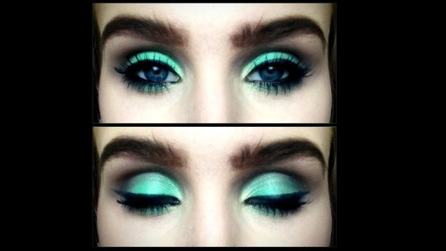 Eye Makeup With Turquoise Dress Sea Green And Warm Brown Smokey Eye Makeup Tutorial Youtube