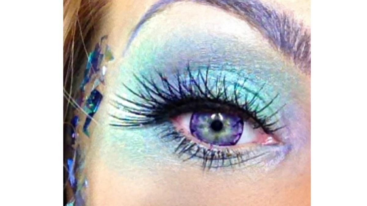 Fairy Eye Makeup Fantasy Fairy Or Mermaid Makeup Tutorial Halloween Festival