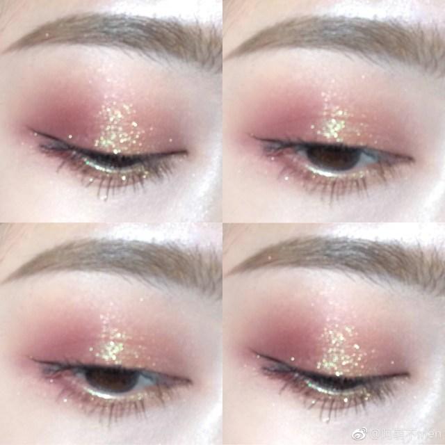 Fairy Eye Makeup Stacked Wipe Small Fairy Color Orange Monochrome Eye Shadow