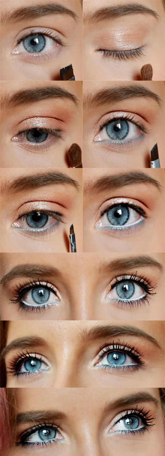 Formal Makeup Ideas For Blue Eyes How To Rock Makeup For Blue Eyes Easy Makeup Tutorials Ideas