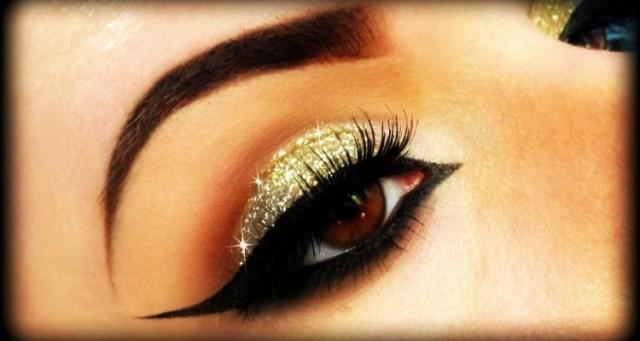 Gold And Smokey Eye Makeup 6 Most Glamorous Gold Smokey Eye Makeup Tutorials