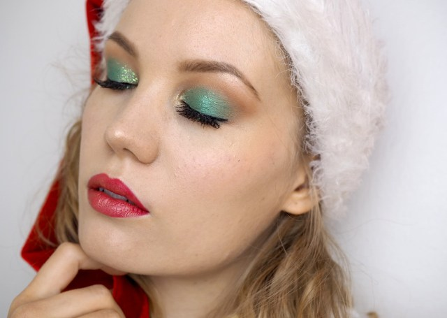 Gold Eye Makeup Tutorial Green Gold Makeup Tutorial Festive For The Holiday Season