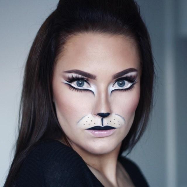Halloween Cat Eye Makeup 22 Cat Makeup Designs Trends Ideas Design Trends Premium Psd