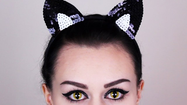 Halloween Cat Eye Makeup Cat Eye Makeup Tutorial Cat Makeup For Halloween Youtube