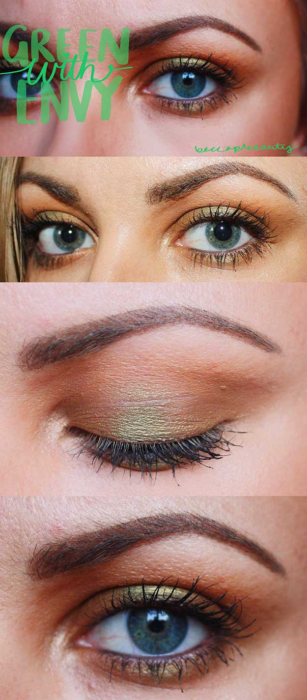 Hazel Eye Makeup 33 Hottest Eye Makeup Trends For 2018 The Goddess