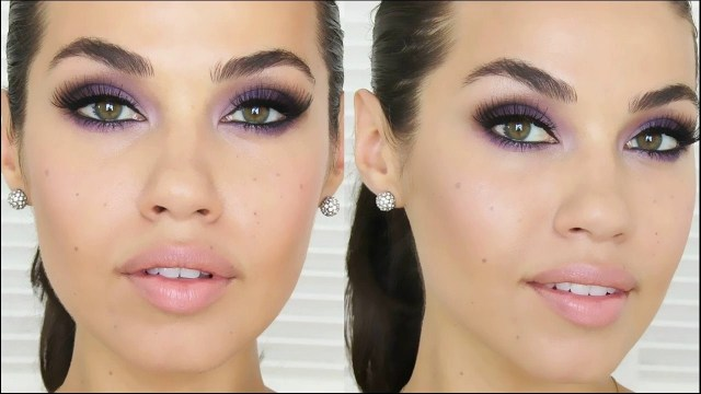 Hazel Eye Makeup Purple Smokey Eye Makeup Is Best For Hazel Eyes Pop How To Make At Home