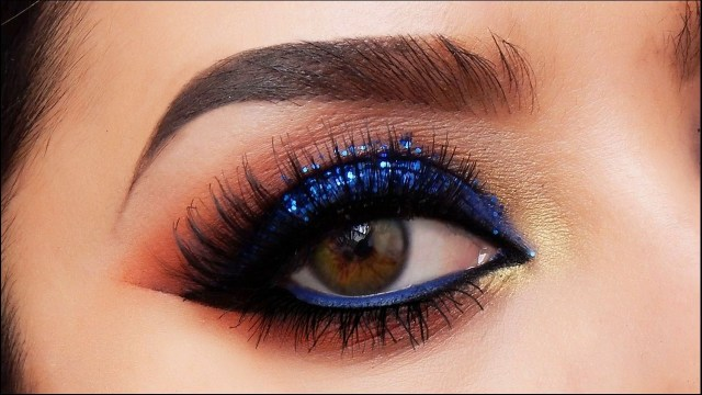 Hazel Eye Makeup Royal Blue Eye Makeup For Hazel Eyes Pop How To Make At Home Suitable Skin Tone