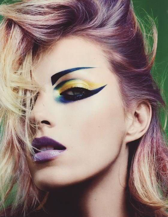 Hippie Eye Makeup The Future Of Makeup Future Hippie