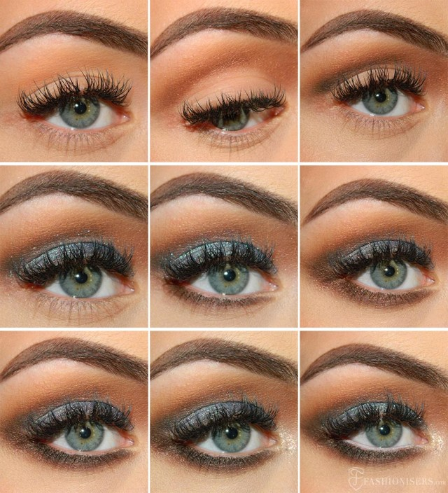Homecoming Makeup For Blue Eyes Lovely Blue Prom Makeup Tutorial Fashionisers