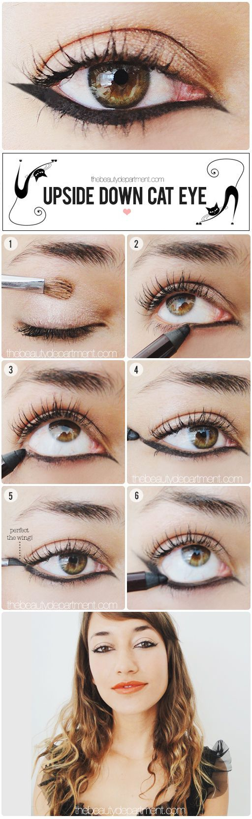 How Do You Do Cat Eye Makeup Cat Eye Makeup How To Do Cat Eyes Step Step In Minutes