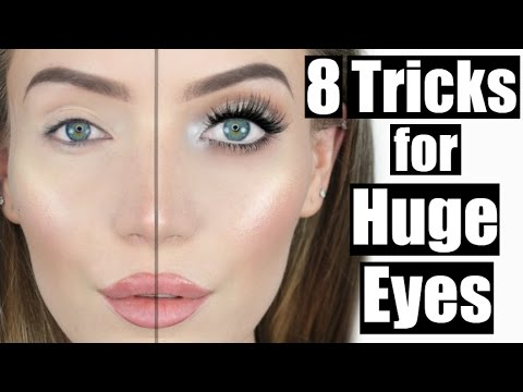 How To Put Eye Makeup On Small Eyes How To Make Small Eyes Look Bigger Stephanie Lange Youtube