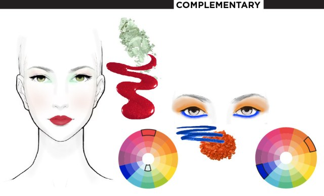 Makeup Colour Wheel For Eyes Makeup Meets Color Theory Beautylish
