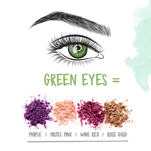 Makeup Colour Wheel For Eyes The Best Eyeshadow For Your Eye Colour Makeup Superdrug