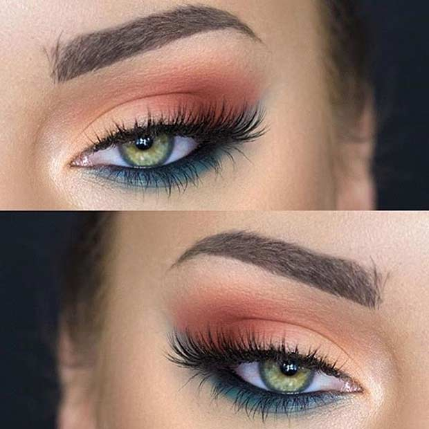 Makeup Eye Looks 31 Pretty Eye Makeup Looks For Green Eyes Stayglam Page 2