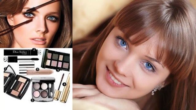 Makeup For Blue Eyes Brown Hair How To Apply Eye Makeup For Blue Eyes And Brown Hair Youtube