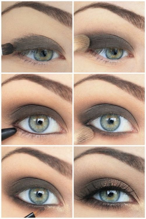Makeup For Greenish Blue Eyes 12 Easy Step Step Makeup Tutorials For Blue Eyes Her Style Code