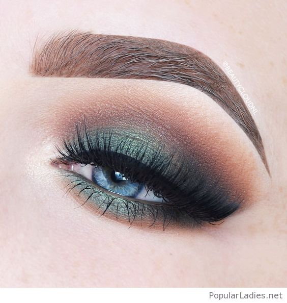 Makeup For Greenish Blue Eyes Awesome Green Eye Makeup For Blue Eyes