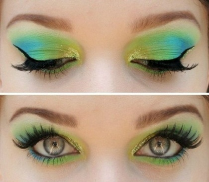 Makeup For Greenish Blue Eyes How To Apply Eye Makeup For Green And Blue Eyes Amazingmakeups