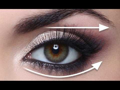 Makeup For Small Hooded Eyes The Straight Line Technique For Hooded Eyes Full Demo Youtube