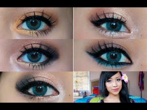 Makeup Tricks For Blue Eyes Eyeshadow Ideas For Blue Eyes Amazingmakeups