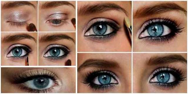 Makeup Tricks For Blue Eyes Some Makeup Tips For Blue Eyes In Different Inspiration