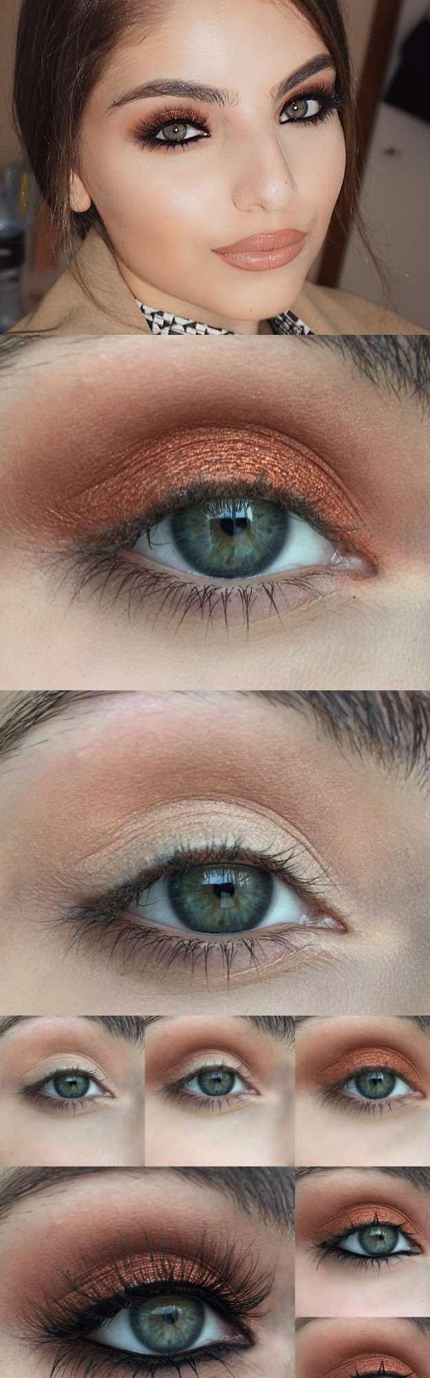 Makeup Tutorials For Green Eyes 50 Perfect Makeup Tutorials For Green Eyes The Goddess